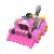 Pink Dozer from Mario Kart Tour