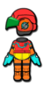 Samus Mii racing suit from Mario Kart 8