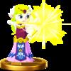 Toon Zelda trophy