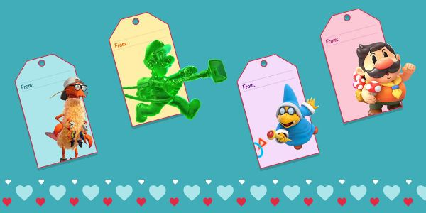 Banner for a Play Nintendo opinion poll on which would be the weirdest Valentine's Day gift. Original filename: <tt>PLAY-4343-VDay2020Poll02_2x1_v05.0290fa98.jpg</tt>