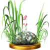 White Pikmin trophy from Super Smash Bros. for Wii U