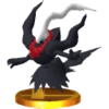 Trophy of Darkrai in Super Smash Bros. for Nintendo 3DS.