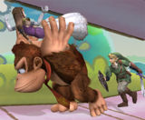 Donkey Kong's carrying abilities
