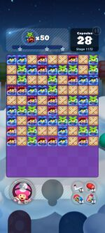 Stage 1172 from Dr. Mario World