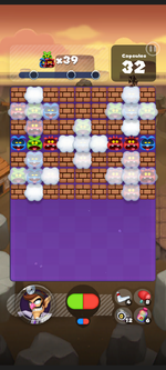 Stage 207 from Dr. Mario World