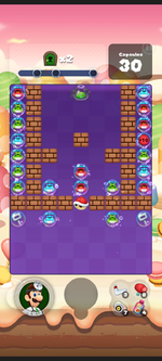 Stage 450 from Dr. Mario World