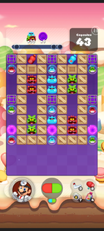 Stage 468 from Dr. Mario World
