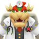 Sprite of Dr. Bowser from Dr. Mario World