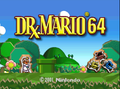 Dr Mario 64 title screen.png