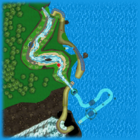 <small>Wii</small> Koopa Cape bottom screen map