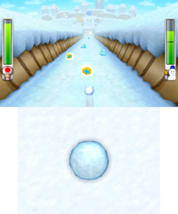 Mr. Blizzard's Snow Slalom from Mario Party: Island Tour