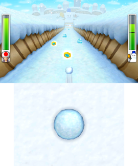 Mr. Blizzard's Snow Slalom from Mario Party: Island Tour