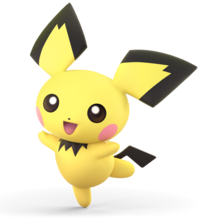 Pichu from Super Smash Bros. Ultimate