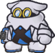 An X-Naut PhD, as he appears in Paper Mario: The Thousand-Year Door.