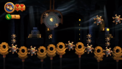 The fourth Puzzle Piece of Blast & Bounce in Donkey Kong Country Returns