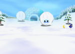 Snowball Valley, from Diddy Kong Racing.
