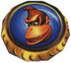 A Kong Pad, from Donkey Kong 64.