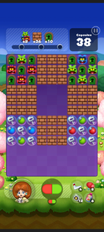 Stage 524 from Dr. Mario World