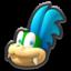 Larry's head icon in Mario Kart 8