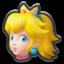Peach's head icon in Mario Kart 8