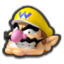 Wario's head icon in Mario Kart 8