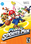 The front North American cover for Mario Sports Mix
