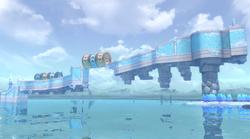 Slipskate Slope in Super Mario 3D World + Bowser's Fury
