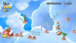 Luigi sighting in Para-Beetle Parade in New Super Luigi U.