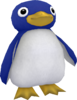 Rendered model of a Penguin in Super Mario Galaxy.