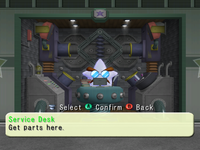 Service Desk in Super Duel Mode from Mario Party 5