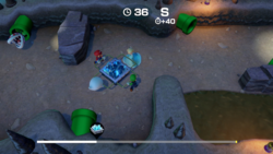 Miner Setbacks from Super Mario Party