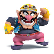 Wario from Super Smash Bros. for Nintendo 3DS / Wii U.