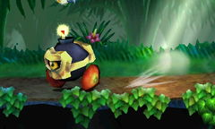 A Bumpety Bomb in Super Smash Bros. for Nintendo 3DS