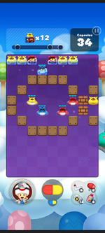 Stage 176 from Dr. Mario World