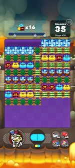 Stage 409 from Dr. Mario World