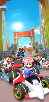 The Mario Tour from Mario Kart Tour.