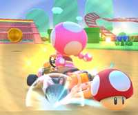 The icon of the Rosalina Cup challenge from the Marine Tour in Mario Kart Tour.