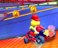 The icon of the Baby Peach Cup challenge from the Wild West Tour in Mario Kart Tour.