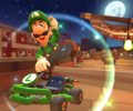 The icon of the Luigi Cup challenge from the 2019 Paris Tour and the Pauline Cup challenge from the Jungle Tour in Mario Kart Tour.