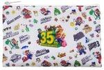 Super Mario Bros. 35th Anniversary zipper pouch from the European My Nintendo Store