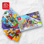 Paper Mario: The Origami King postcard set My Nintendo reward