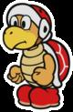Fire Bro sprite from Paper Mario: Color Splash