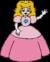 Cutscene Render of Princess Peach in Hotel Mario