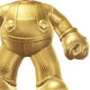 The Gold Mario Suit icon.
