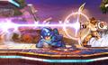 SSB4 3DS - Mega Man Dodges Pit.png