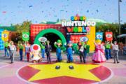 Opening of Super Nintendo World.