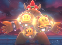 The final boss of Bowser's Fury.