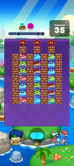 Stage 609 from Dr. Mario World