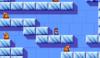 Mario in the level Igloo 1.