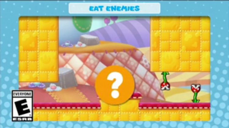 A frame of the video shown with the tenth question in Mini Mario & Friends: amiibo Challenge Trivia Quiz